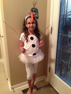 Olaf diy halloween costume things ive made pinterest diy diy olaf costume frozen solutioingenieria Image collections