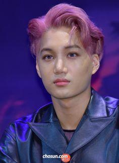 Kai - 160608 Third Regular Album 'EX'ACT' comeback press conference Credit: The Star. (정규 3집 '이그잭트' 컴백 기자회견)