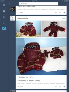 The knitter.  Did anyone notice that Wirt is that guys profile pic