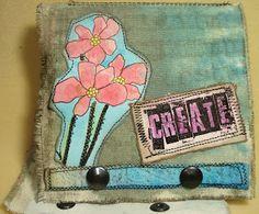 My Stuff, My Life - Create - a canvas journal...