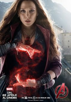 Avengers – Age of Ultron: i character poster di Quicksilver e Scarlet Witch