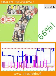 Glee: The Music Volume 7 (CD). Réduction de 66%! Prix actuel 7,00 €, l'ancien prix était de 20,49 €. https://www.adquisitio.fr/decca/glee-the-music-volume-7