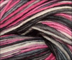 "multi color 100% merino yarns!  ""112 Romance and the city"" by Abuelita Yarns"