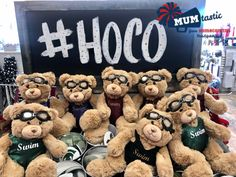 Dress I have your homecoming mum with these sweet swim bears! Homecoming Mums, Swimming, Bear, Sweet, Bears