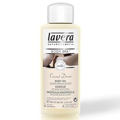 Lavera Organic & Natural Cosmetics and Skin Care - Body Spa Coconut Dream Body Oil