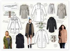 Emily Kiddy: Maternity Fashion - Outerwear Trends for Autumn/Winter 2012