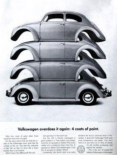 1960s Volkswagen ad