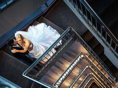 Weddings Melbourne | Staircase | Wedding photo ideas
