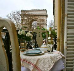 Romântico e chique em Paris