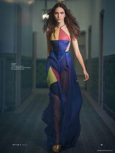 Tako Natsvlishvili in Valentino Haute Couture By Benjamin Kanarek For The South China Morning Post June 2015