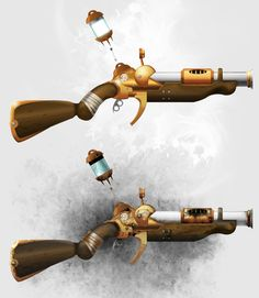 Steampunk Weapons/Guns Concepts on Behance