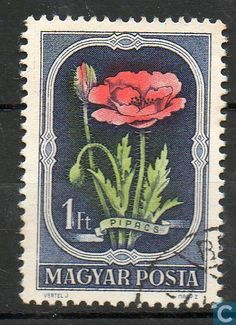 Hungary [HUN] - Native flora 1951 {I actually love stamp designs and now I get why people collect stamps} Rare Stamps, Vintage Stamps, Valley Of Flowers, Postage Stamp Art, Vintage Lettering, Historical Art, Small Art, Gravure, Stamp Collecting