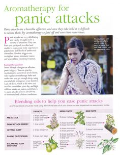 Young Living Essential Oils: Panic Attacks  www.fb.com/HealingLotusAromatherapy