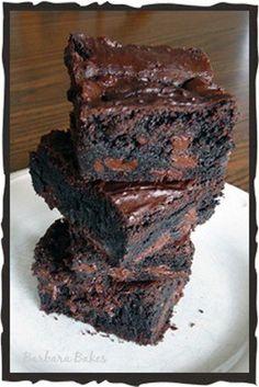 King Arthur Flour Fudge Brownies. My Favorite brownies of all time (PL)