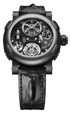 Romain Jerome Steampunk Tourbillon Watch