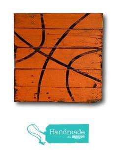 Basketball Sign / Vintage Wood Sports Sign / Boys Bedroom Decor / Vintage Basketball Decor from Pallets and Paint http://www.amazon.com/dp/B01B8JOP2K/ref=hnd_sw_r_pi_dp_8V6ixb1B8W581 #handmadeatamazon