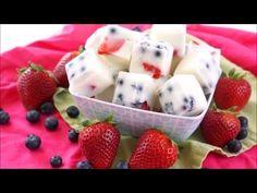 Frozen Yogurt Berry Bites Recipe – Happiness is Homemade