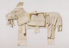 With found and improvised household materials, James Castle (1899-1977) assembled an enormous variety of small cardboard figures. He kept do...