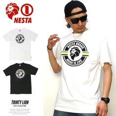 ネスタブランド NESTA BRAND Tシャツ メンズ TRINTY LION :5v4125:DEEP B系・ストリートファッション - 通販 - Yahoo!ショッピング