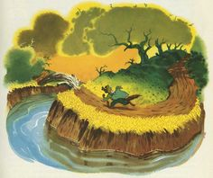 Song of the South Uncle Remus Stories Old Disney, Disney Pixar, Disney Characters, Uncle Remus, Song Of The South, Classic Disney Movies, Children's Book Illustration, Book Illustrations, Disney Cartoons