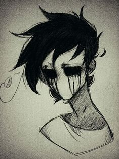 Pin by r-p grade on eyeless jack proxies for luana franchise in 2019 cr Scary Drawings, Dark Art Drawings, Pencil Art Drawings, Cute Drawings, Drawing Sketches, Mermaid Drawings, Drawing Drawing, Arte Horror, Horror Art