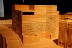Model of Kolumba museum Cologne by Peter Zumthor