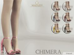 Madlen Chimera Shoes by MJ95 at TSR • Sims 4 Updates