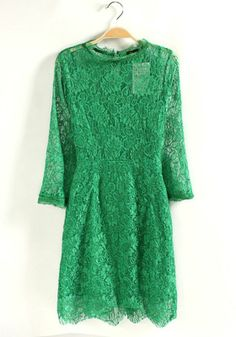 Lacy Christmas Dress - more → http://sylviafashionstylinglife.blogspot.com/2012/08/lacy-christmas-dress.html