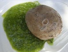 Mojo verde o mojo de cilantro  http://eculinariae.blogspot.com.es/2012/06/mojo-verde-o-mojo-de-cilantro.html