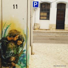 C215 street art Lagos, Algarve, Portugal || Read my blogpost here: http://www.blocal-travel.com/street-art/lagos-street-art-guide/