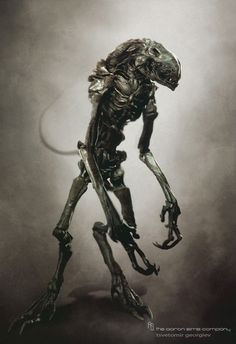 Alien Creature Concept Art by Tsvetomir Georgiev of The Aaron Sims Company Alien Concept Art, Creature Concept Art, Creature Design, Alien Film, Alien Art, Aliens, Xenomorph, Monster Design, Monster Art