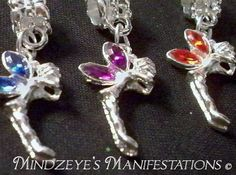 {5} Silver Plated Faery Euro Dangles . Starting at $5 on Tophatter.com!