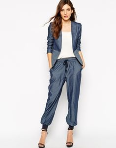 BCBGeneration Trousers in Stripe