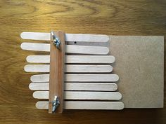 Make a thumb piano! Science Activities, Piano, Wood, Glitter Glue, Holy Family, Kids Fun, How To Make, Hampshire, Scouts