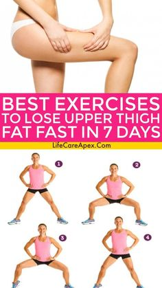 Best Exercises to Lose Upper Thigh Fat Fast in 7 Days Best Exercises to Lose Upper Thigh Fat Fast in 7 Days – Related Modetrends für den Sommer 2019 - Quick Broccoli PastaI love switching it up at the gym with an incline workout. Outer Thigh Fat, Lose Thigh Fat, Lose Fat, Lose Weight, Inner Thigh, Burn Belly Fat Fast, Reduce Belly Fat, Fitness Workouts, Mental Training
