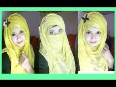 Crisscross Hijab style with single hijab | Styline collection - YouTube
