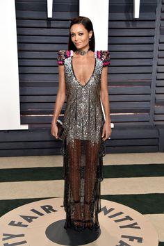 Thandie Newton in Schiaparelli at the 2017 Vanity Fair Oscar Party