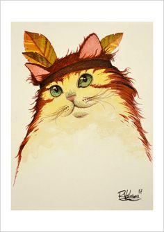 Little Grass Smoke  by Raphaël Vavasseur … FROM I'm cat -- by Raphaël Vavasseur -- Carrouges, France