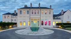 Seaham Hall and Serenity Spa Seaham Set in 37 acres of rustic countryside, Seaham Hall and Serenity Spa features a cliff-top location and views over Durham's heritage coastline. The award-winning spa offers a 20-metre indoor pool with massage stations, a sauna and a fitness centre.