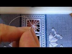 Punto Antico Fan Filling Tutorial - YouTube
