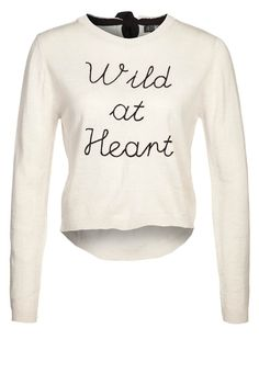 WILD AT HEART - Strickpullover - moon beam