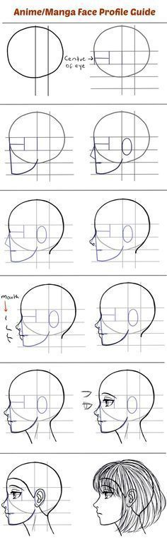 Drawing Portraits - Para aqueles que têm dificuldade em desenhar mangá de perfil. - Discover The Secrets Of Drawing Realistic Pencil Portraits.Let Me Show You How You Too Can Draw Realistic Pencil Portraits With My Truly Step-by-Step Guide. Drawing Lessons, Drawing Techniques, Drawing Tips, Drawing Tutorials, Drawing Reference, Art Tutorials, Drawing Sketches, Pencil Drawings, Painting & Drawing