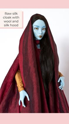Yalki Palki Bespoke clothing for Ball Jointed Dolls Open for commissions Bespoke Clothing, Princess Zelda, Disney Princess, Ball Jointed Dolls, Cloak, Disney Characters, Fictional Characters, Aurora Sleeping Beauty, Silk