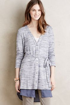 Nomi Cardigan #anthropologie - Like the wrap concept, not necessarily the color which could be darker or something deeper.