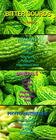 BITTER GOURD or Bitter Melon, or Balsam Pear, Momordica charantia, is bitter to the taste and therefore not widely eaten. But it has many health benefits…