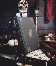Pocket-size Leather Journal Grimoire  Mortis Rex