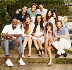 Famous family: Keeping Up With The Kardashians' eighth season continues next Sunday on E!
