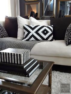 FOCAL POINT STYLING: ON TREND WITH THRIFT FINDS & TIPS IN BLACK & WHITE
