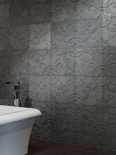 Dimensional Concrete Tiles