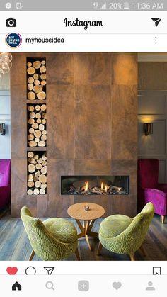 Diseño de chimenea